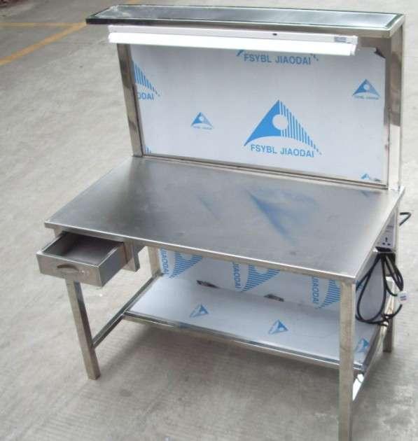 振兴辉工业有品质的不锈钢质检台,可调工作台