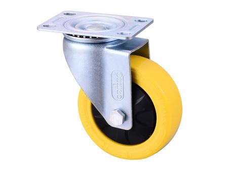 4寸固定尼龙定向轮厂家-供应浙江高质量的脚轮