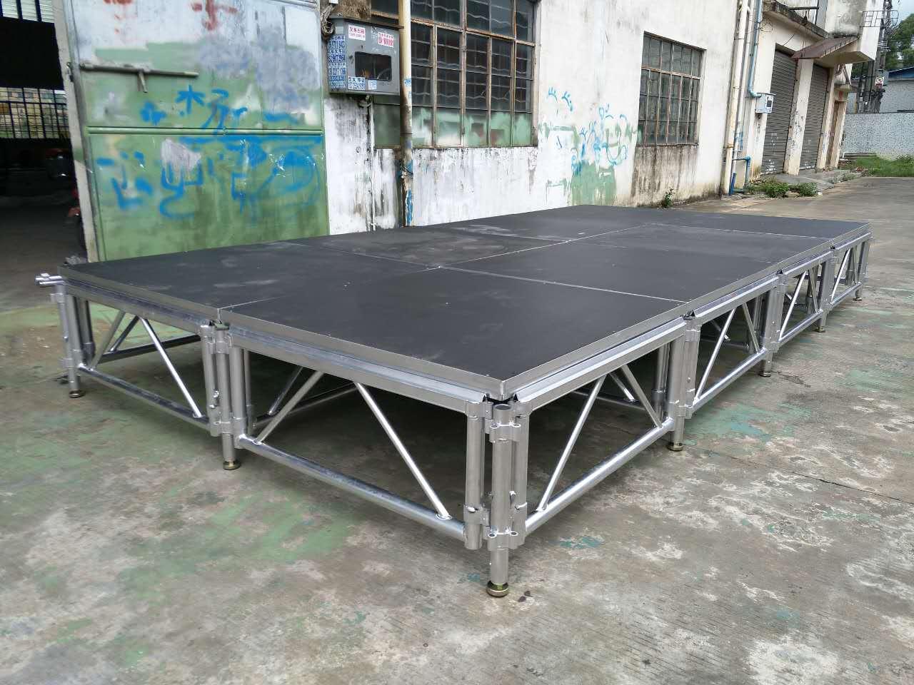 定制铝合金拼装舞台-广东耐用的铝合金拼装舞台批发