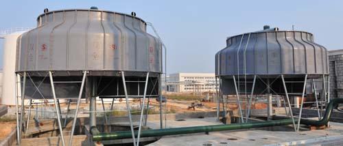 三明圆形逆流冷却塔-福建节能的圆形冷却塔