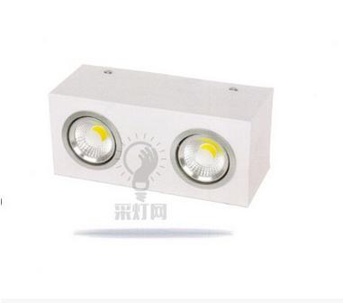 成都超值的新初LED 明装筒灯家用商用工程铝材-专业的LED灯