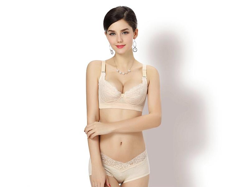 棉质舒适女性内衣 广东声誉好的蚕丝蛋白文胸供应商是哪家