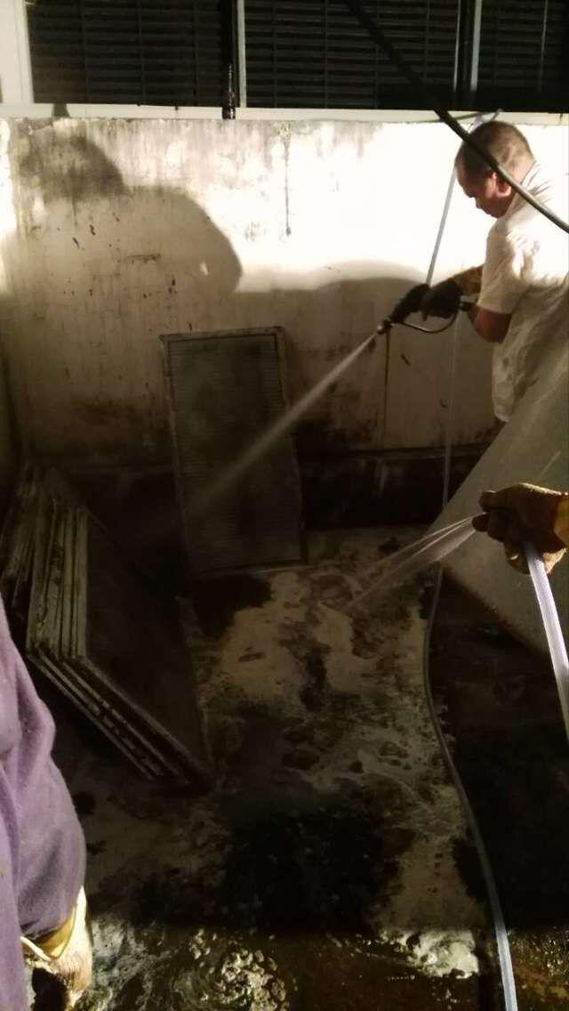 可靠的油烟管道清洁公司当选勤建实业 创新型的油烟管道清洁
