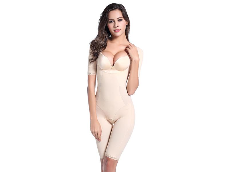 塑身衣束身衣 信誉好的托玛琳短袖塑身衣厂家