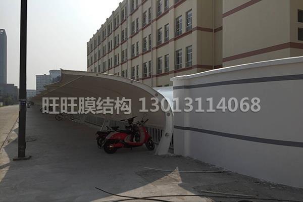 膜結構電動車棚公司-出售馬鞍山膜結構自行車棚