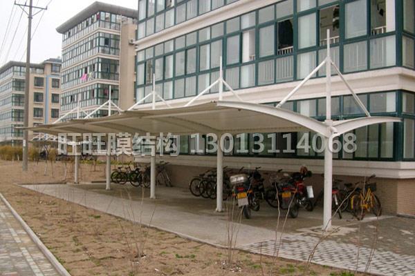 膜结构景观棚设计-哪里有提供膜结构自行车棚