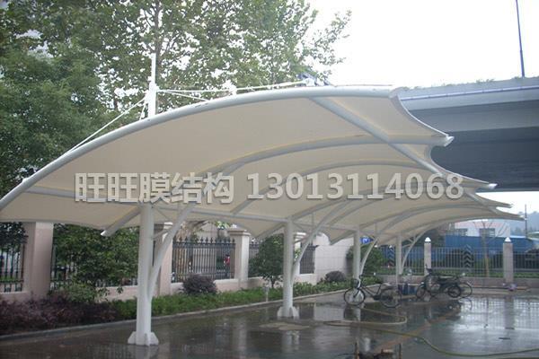 膜結構加油站加工-膜結構收費站造價
