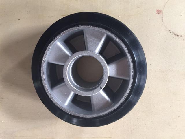 浙江铝芯橡胶轮-信誉好的铝芯橡胶轮供应商当属江北宇胜橡塑制品