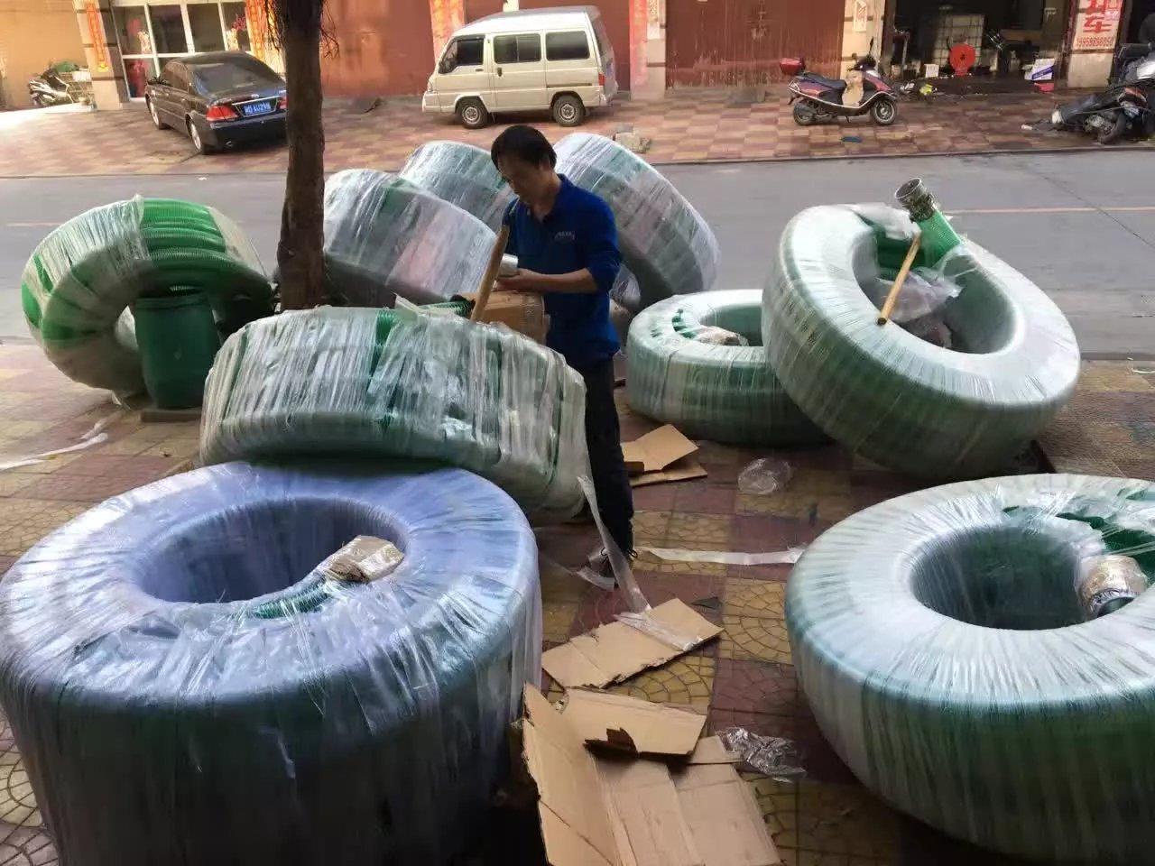 上海绿色皮管PVC钢丝管——福建地区专业的PVC钢丝管