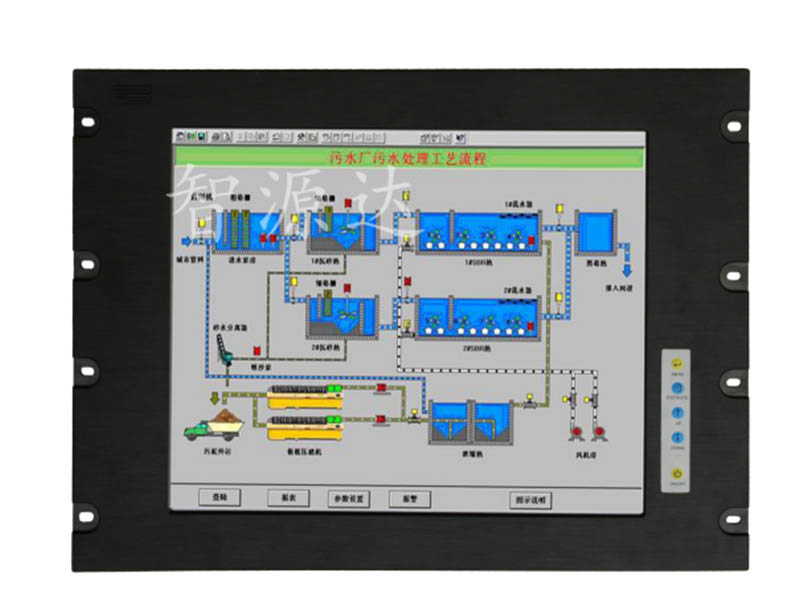 工业液晶显示器厂家_推荐品质优良的17.3寸上架式工业显示器