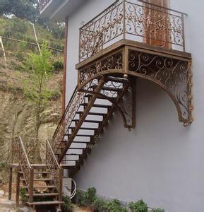 铁艺楼梯供应商哪家比较好 周至铁艺楼梯厂家批发