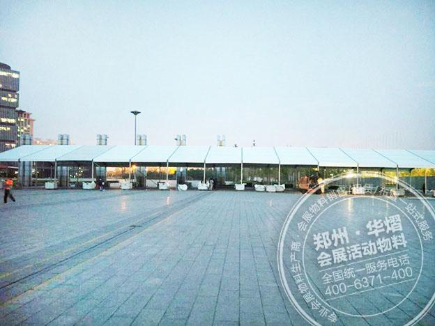 新鄭車展篷房-品質車展篷房當選華熠廣告