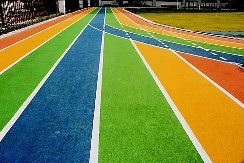 绿晨体育设施物超所值的环保无毒塑胶跑道出售——毕节环保无毒塑胶工程