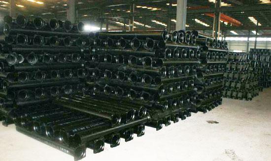 北京新兴管道提供的铸铁管价钱怎么样,优惠的大连国标排水铸铁管-现货批发各种铸铁管件