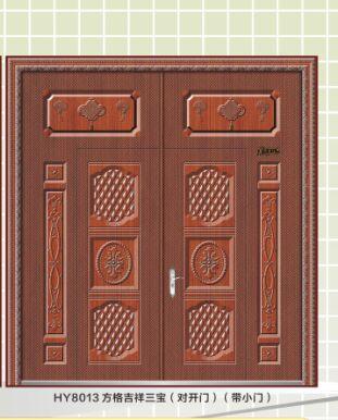 双开铁门哪家好-实惠的仿铜铁门当选善永门业