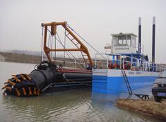 吹泥船型号-凯翔机械绞吸式吹泥船价格