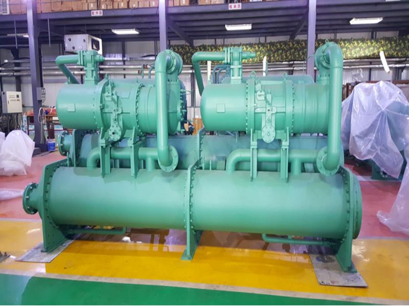 天河人工环境提供品牌好的双机头水冷螺杆机-中央空调免费改造