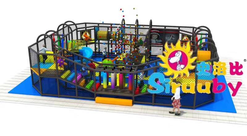 广州博比特_室内儿童乐园品质优良_新型加盟淘气堡