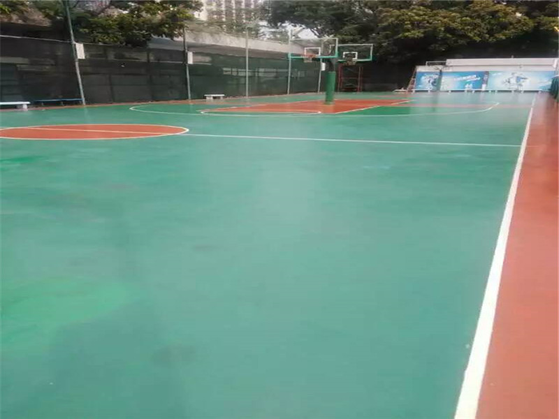 运动场地地坪专业供应商——珠海运动场地地坪