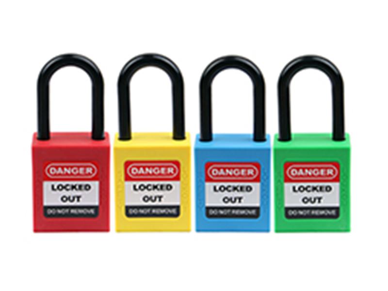 38MM绝缘短梁系列之安全挂锁价格-洛科安防用品出售划算的38MM绝缘短梁系列之安全挂锁
