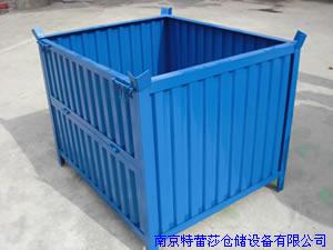 供应南京品质好的 折叠式箱式托盘_置物柜代理