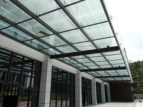 山东玻璃雨棚厂家-山东价位合理的玻璃幕墙供应