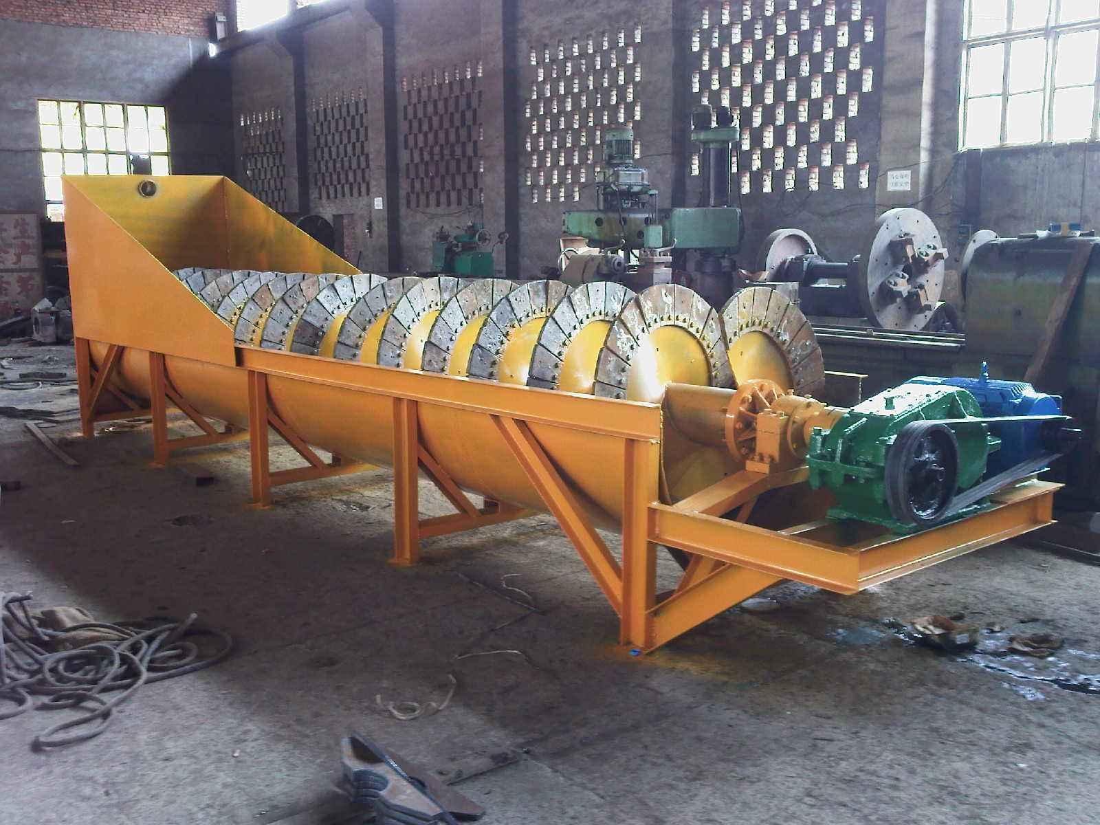 螺旋洗砂机厂家-好用的螺旋洗沙机砂王环保设备供应