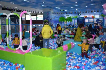 儿童乐园商场淘气堡加盟