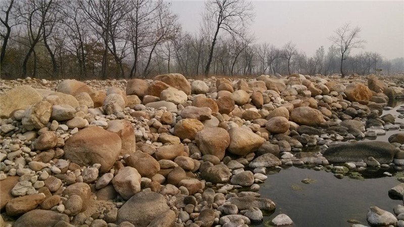 鹅卵石我们制造-新款鹅卵石山河园林供应