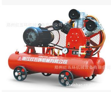活塞空压机厂家|郑州红五环机械高质量的W2.85/5活塞空压机柴动活塞空压机