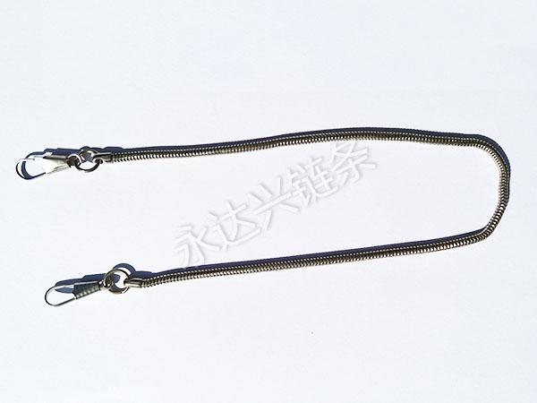 不锈钢扁磨链厂家_想要优良的首饰链请锁定永达五金链厂