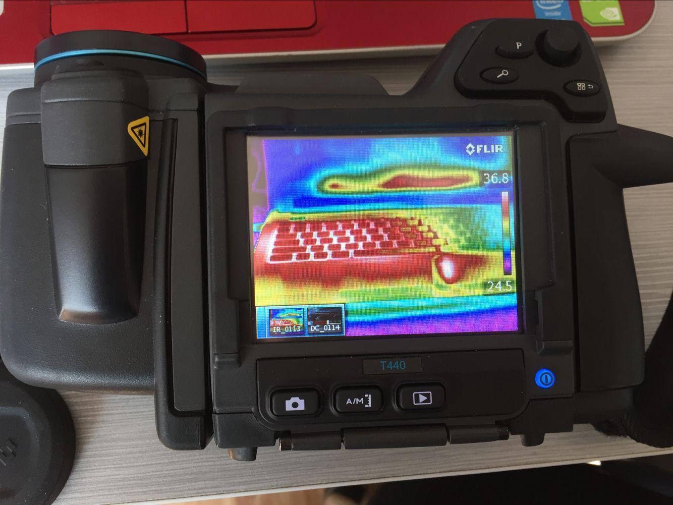 【山东专业红外热像仪高价回收】济南高温热像仪TI400回收