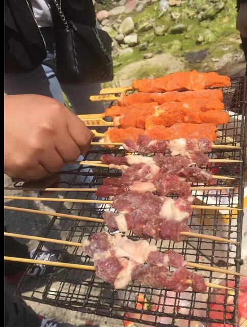 羊肉串生產廠家-超值的燒烤羊肉串,鼎匯食品供應