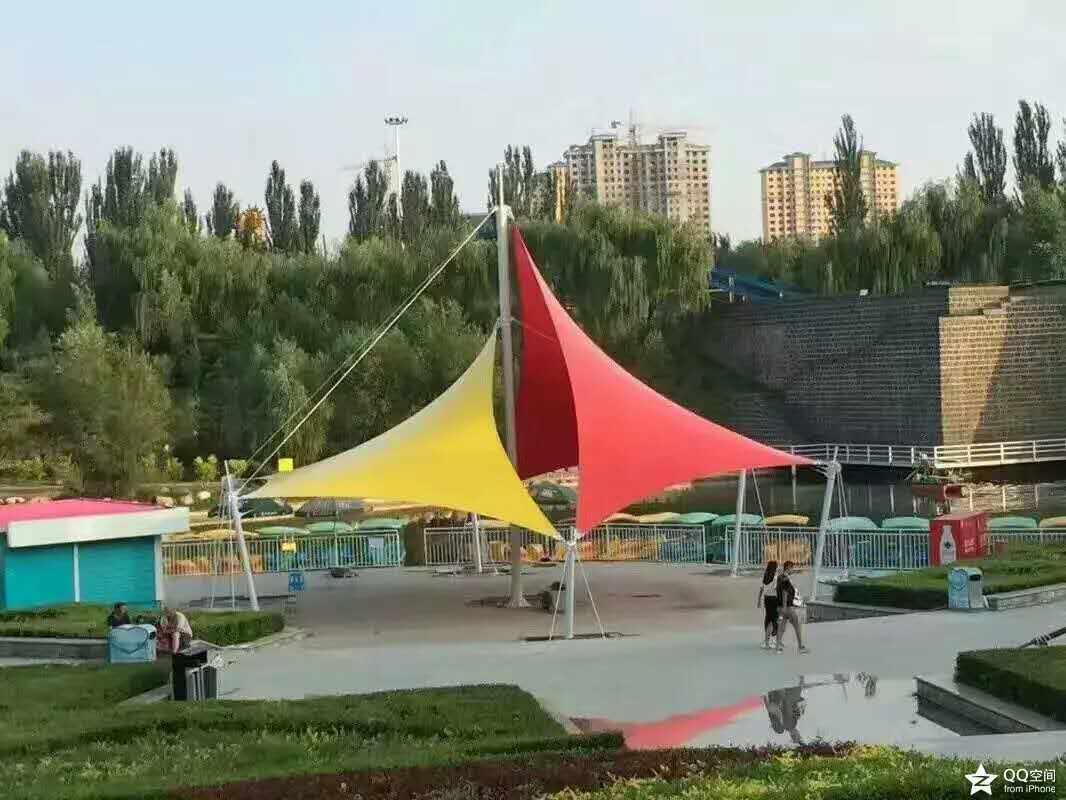 深圳景观棚生产厂家 景观棚建造找友人车棚