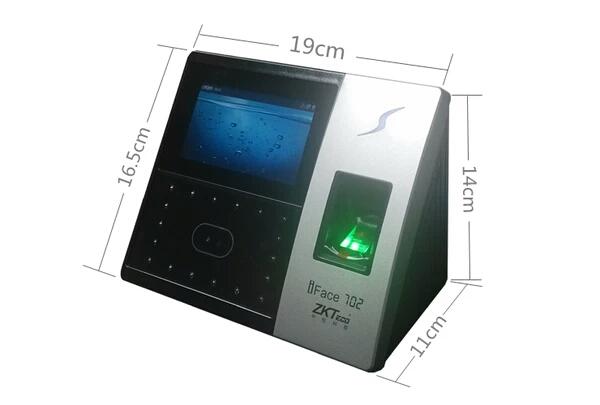 俊煜信息供给杰出IFACE702脸部指纹夹杂考勤机-脸部指纹夹杂考勤机代办署理商