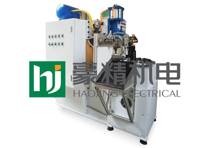 广东环缝自动焊机|豪精机电供应自动转盘焊接专机