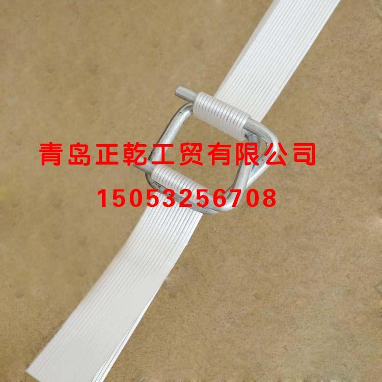 青岛哪里能买到价位合理的钢丝打包扣|柔性纤维打包带规格