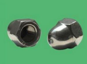 基准五金供应厂家直销的304不锈钢盖形螺母|304不锈钢盖形螺母报价
