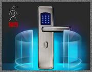 指纹识别门锁-可信赖的指纹密码锁厂家价格就是西安朗通科技