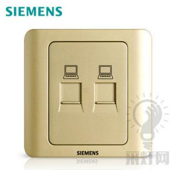高性价西门子开关面板市场价格 专业定制西门子开关插座面板远景雅白三孔插座