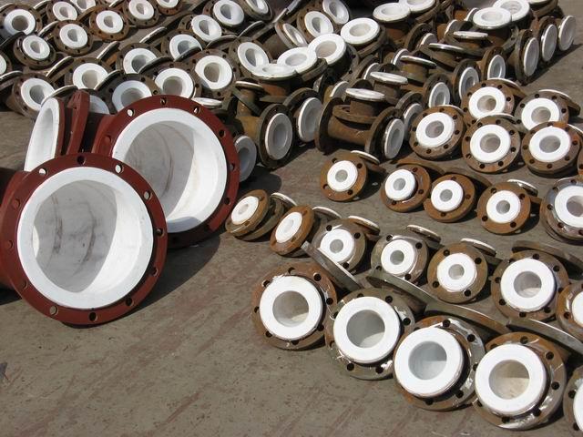 乾达化工设备专业的耐酸铸铁管件出售 深圳钢衬po管道