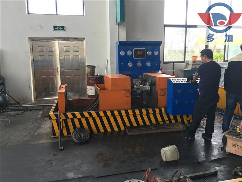 专业的阀门试验台_多加液压成套设备批发液压阀门试验台