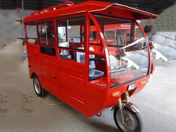 瑞发车棚三轮车车棚出售-河东三轮车车棚