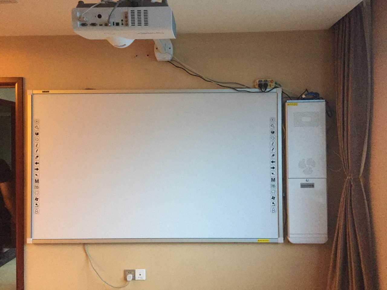 烟台电子白板一体机厂家,烟台一体机电子白板点圆互动
