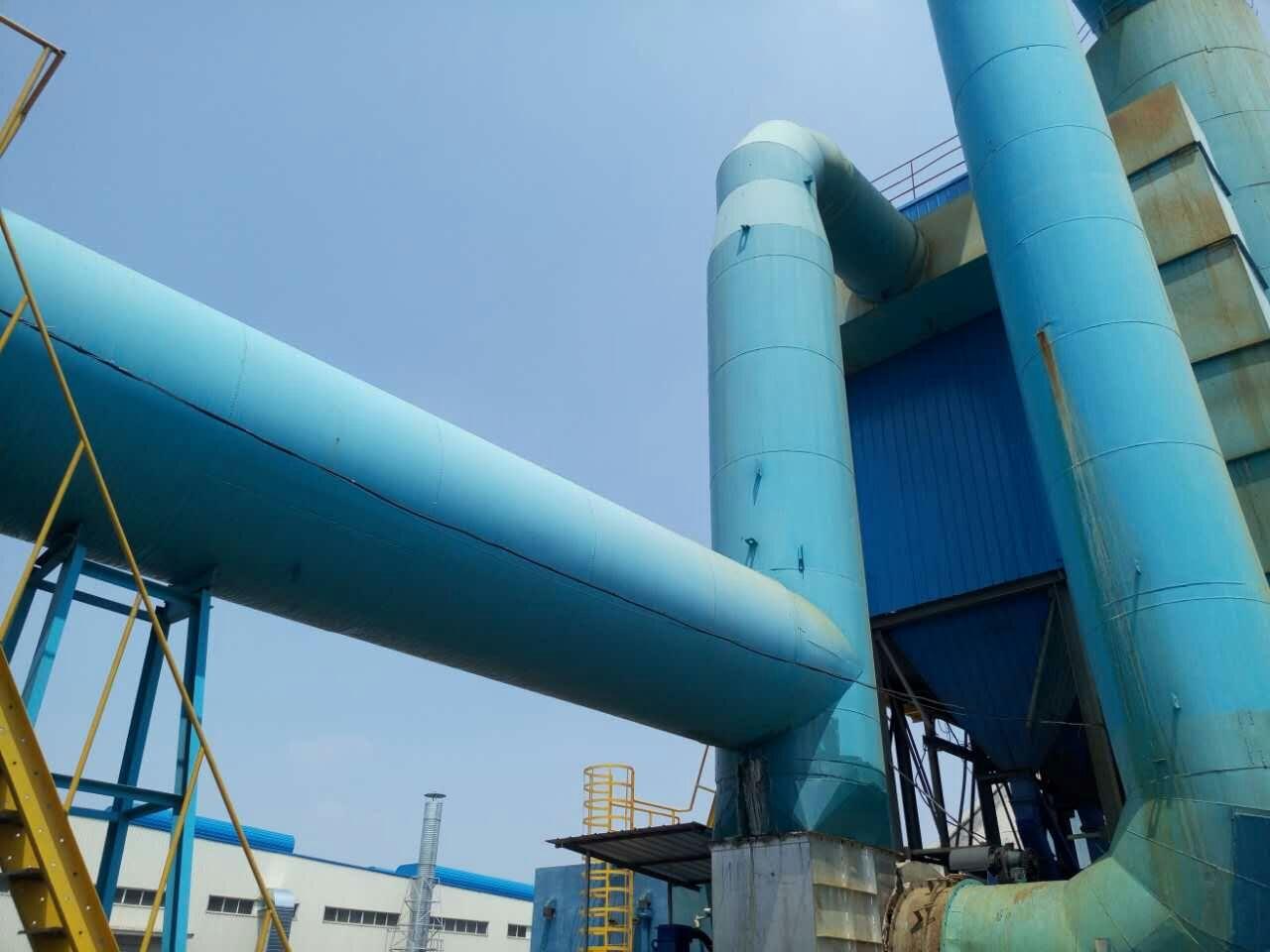 售卖砖厂窑炉脱硫塔锅炉高效脱硫除尘器,上等大型锅炉脱硫塔除尘器广吉供应