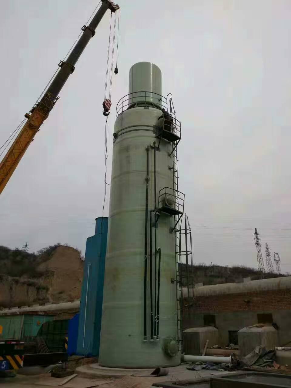 优惠的锅炉脱硫塔-广吉大型锅炉脱硫塔除尘器厂家