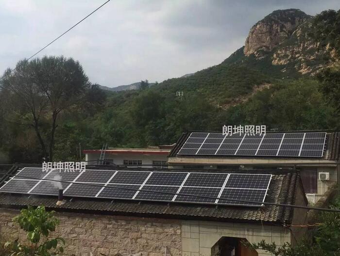 价位合理的光伏发电|买好的农村屋顶光伏发电,就选甘肃朗坤照明