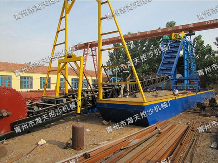 挖沙船厂家――潍坊哪里有供应质量好的挖沙船