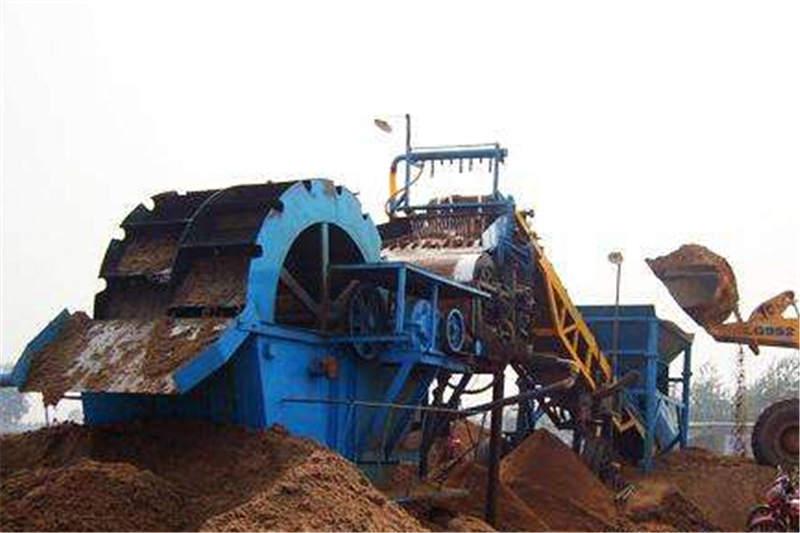 绞龙洗砂机-山东上等挖砂水洗机械供应