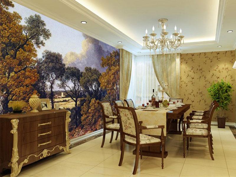 可信赖的酒店壁画-海口哪家一站式墙体彩绘公司好